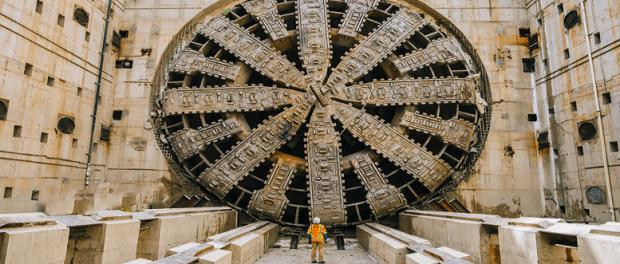 tunnelbohrmaschine bertha